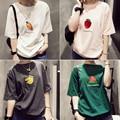 Camisetas Mujer 2017 New Arrival Summer T Shirt Women O-neck Short Sleeve Harajuku T-shirt Casual Loose Tees Tops High Quality