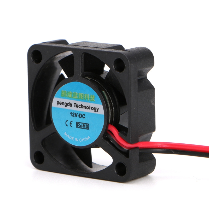 1PCS DC 12V /24V Radiator 30*30*10mm Small 2-Wire Cooling Fan 3010 For 3D Printer Accessories Parts Extruder