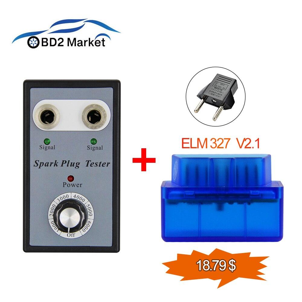 Obd2 Elm327 V2.1 Moderate Price Automobiles & Motorcycles Dual Hole 12v Car Spark Plug Tester Ignition Plug Analyzer For 12v Gasoline Vehicles Car Spark Plug Tester