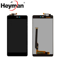 Heyman LCD Screen And Touchscreen Digitizer Full Assembly Replacement For Xiaomi Mi4c Mi4C Free Shipping Tools