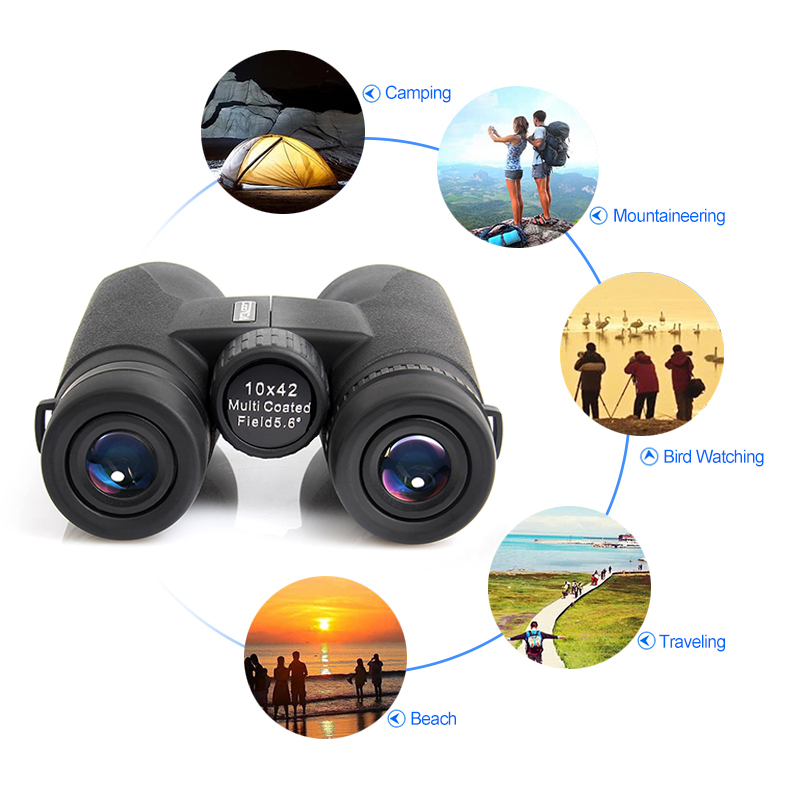 Shimmer Binoculars Telescope Eyepiece Bird Watching Hunting No-Infrared Sports High-Power
