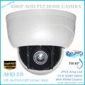 Novo mini AHD câmeras ptz full hd com p2p zoom motorizado lens câmera dome ptz, Zoom Óptico de 3x câmera de 2MP PTZ AHD Câmera Livre grátis