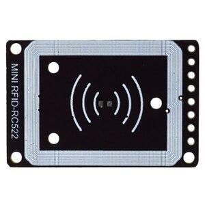 Image 2 - מיני Rc522 Rfid חיישן מודול כרטיס סופר קורא מודול I2C Iic ממשק Ic כרטיס Rf חיישן מודול Ultra קטן rc522 13.56Mhz #8