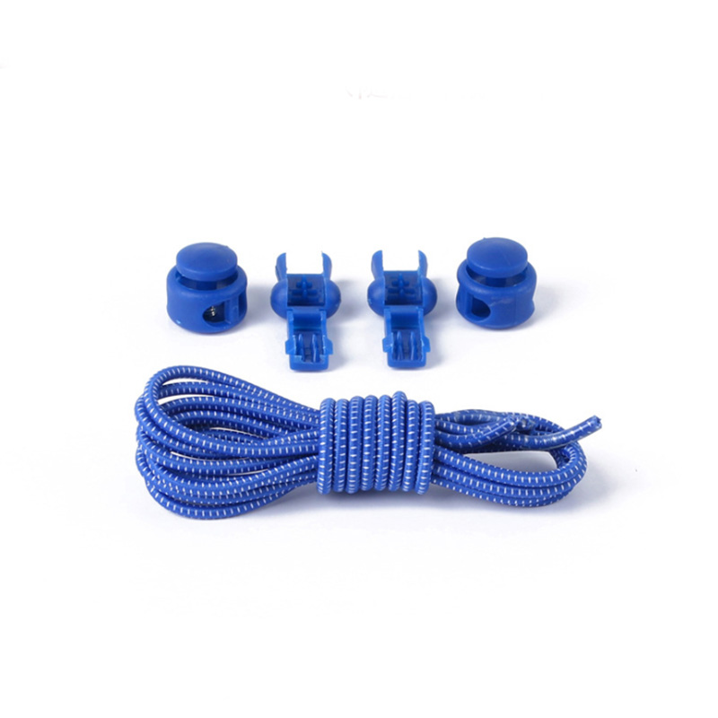 1 Pair No Tie Locking Shoelaces Elastic Unsiex Women Men Trainer Running Athletic Sneaks Shoe Laces Fit Strap Shoelace Wholesale (10)