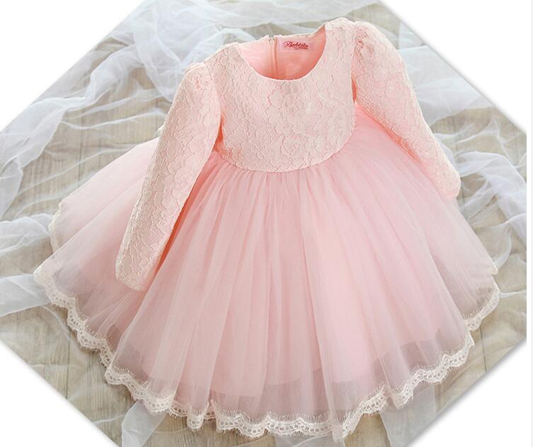 616a8184c44df US $16.82 49% OFF Toddler Girl Baptism Dress Christmas Costumes Baby Girls  Princess Dresses 1 Year Birthday Gift Kids Party Wear Dresses For Girls-in  ...
