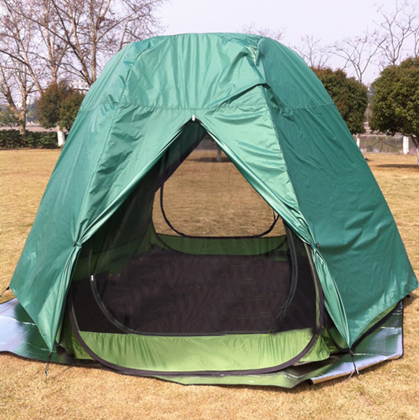 Upgrade!(shell+inner tent)5 10persons large room party tent/Pop up quick open garden tent