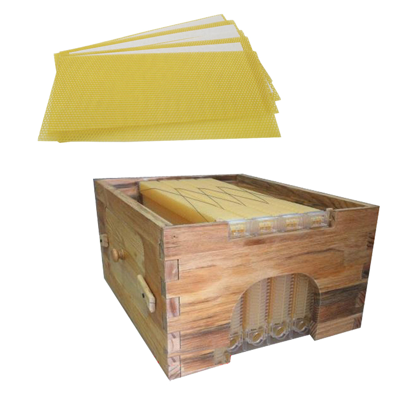 Free shipping automatic beehive honey flow hive honeycomb 4 frames with super box beehive hive flow 30 Traditional  honeycombs 8 frames reversible electric honey extractor