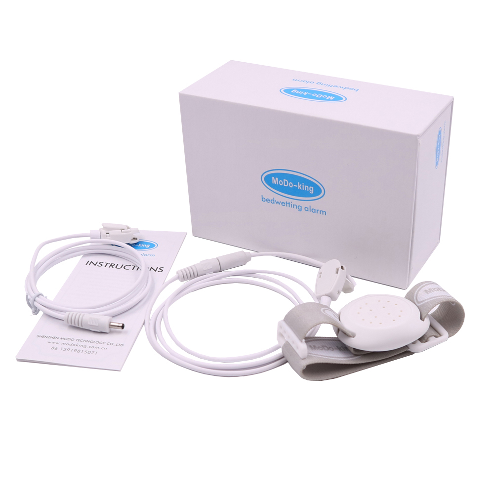 MoDo-king MA-108 baby bedwetting alarm best bed wetting alarm for boys girls kids nocturnal enuresis alarm