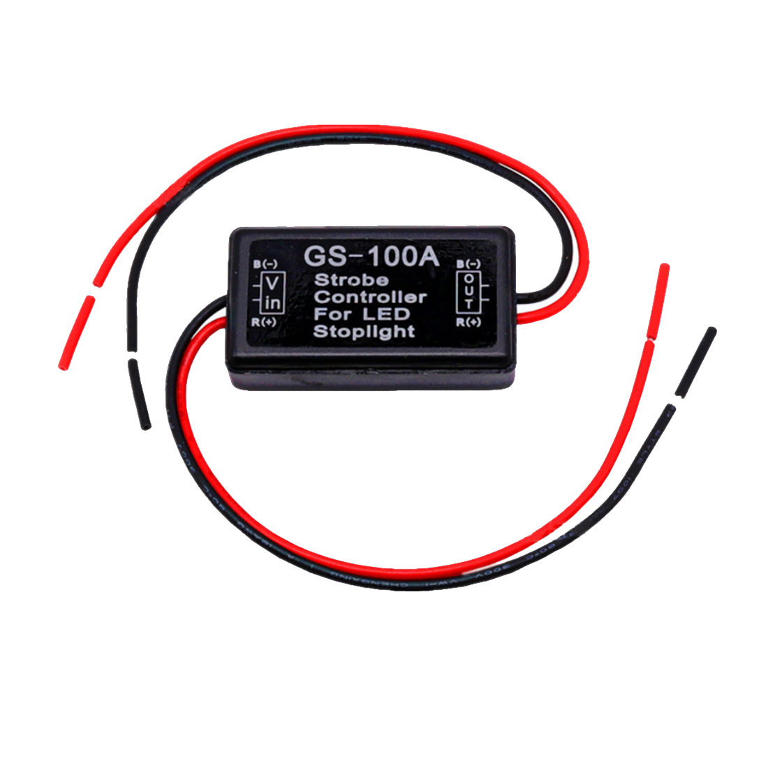 Tonewan GS-100A 12--24V Flash Strobe Controller Flasher for LED Flashing Back Rear Brake Stop Light Lamp Car Accessories