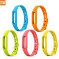 100% original xiaomi mi banda dispositivos wearable pulseira pulseiras de silicone 1 s xiao mi 1a miband pulseira correia de pulso wrist band
