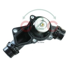 e2c Engine Thermostat + Housing + Sensor + Gasket For BMW OE#: 11531437040 /11530139877 / 11531437040
