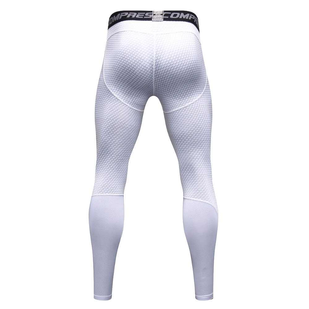 Kırmızı/mavi/gri/beyaz/siyah/vücut geliştirme erkek tayt, büyük boy-xxxl elastik uzun pantolon.