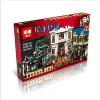 lepin diagon alley legoing harry potter 16012 MOC Movie series Set potter Building Blocks Bricks legoings harry potter 10217