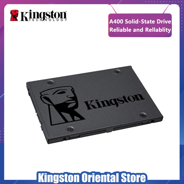 Kingston A400 SSD 120GB za $22.32 / ~84zł