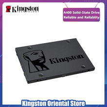 Kingston A400 SSD 120 GB 240 GB 480 GB 2,5 pulgadas SATA III HDD Disco Duro HD SSD Notebook PC 120, 240, 480g interna de unidad de estado sólido(China)