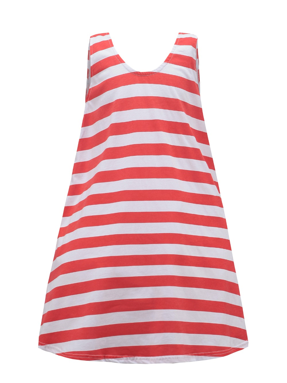 Retail! Girls Summer Dresses 2015 toddler girl clothes Casual Bohemian girl dress Ink/Orange stripe beach Dresses