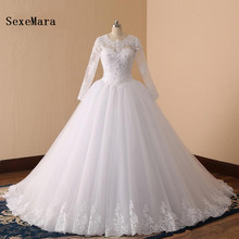 SexeMara Elegant Real Pictures Wedding Dresses Gowns
