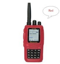 WOUXUN Walkie Talkie Portable Case Silicon Rubber Radio Protective Case For KG-UV8D Red