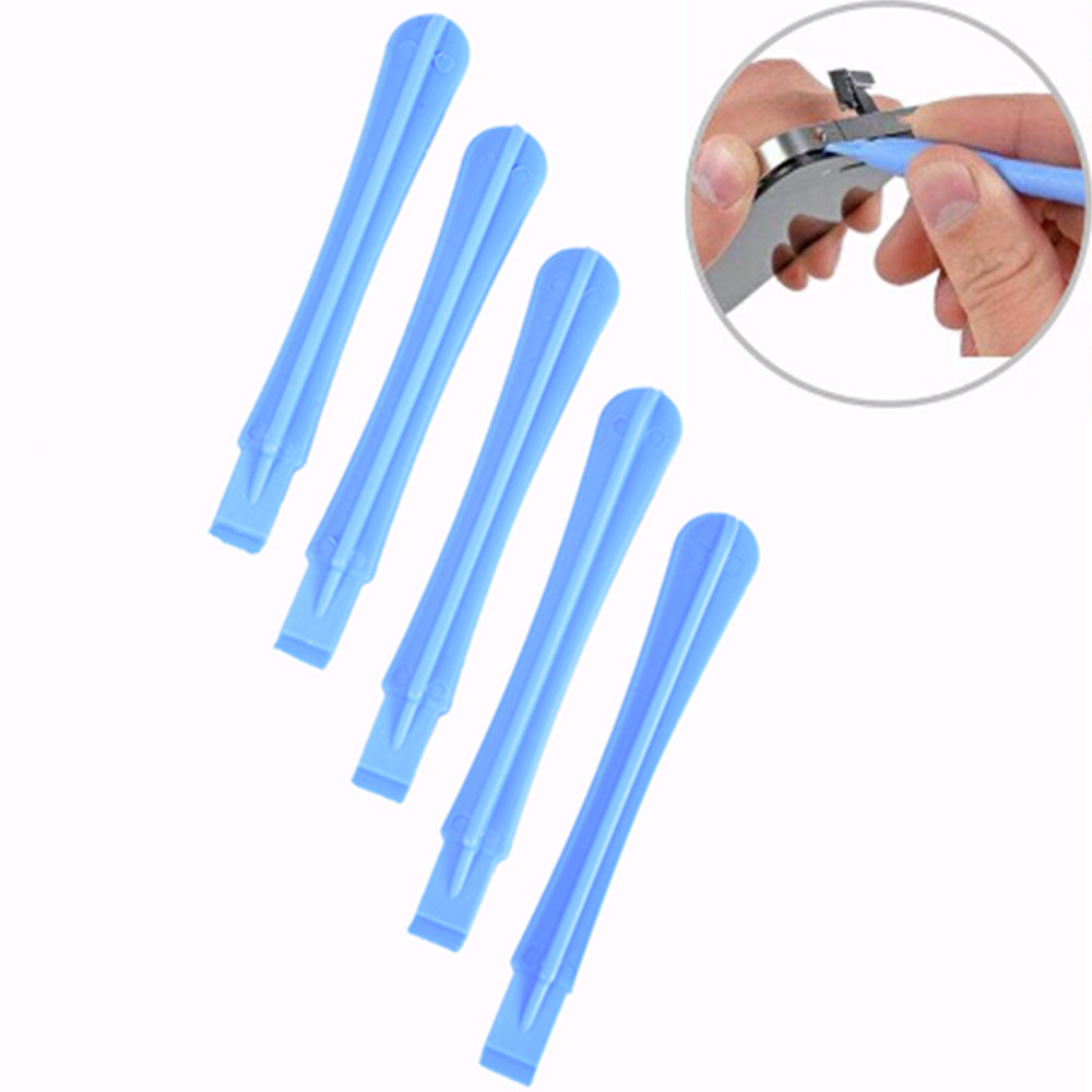 5-10pcs/set 8x1.2cm Opening Pry Tools Plastic Spudger For IPhone Mobile Phone Laptop PC Disassembly Repair Tools