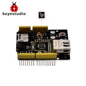 Плата расширения Keyestudio W5500 Ethernet для Arduino (без POE)