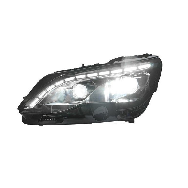 все цены на Parts Side Turn Signal Drl Neblineros Para Auto Daytime Running Styling Led Lamp Headlights Car Lights Assembly For Peugeot 5008