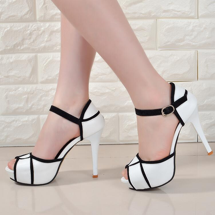 Wide High Heels Promotion-Shop for Promotional Wide High Heels on ...