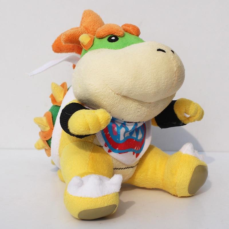 18cm Super Mario Bros Koopa Bowser JR Plush Toys Doll Baby Bowser Koopa Plush Soft Stuffed Toys for Children Kids Gifts(China)