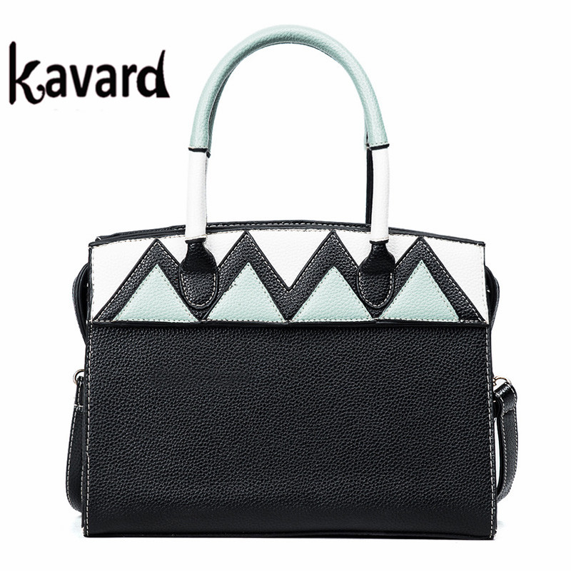 Fashion KAVARD brand leather luxury handbags women bags designer handbags high quality sac a main femme de marque luxe cuir 2017 high quality iron wire frame sun glasses women retro vintage 51mm round sn2180 men women brand designer lunettes oculos de sol