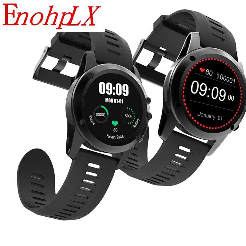 Montre intelligente Android EnohpLX 3G H1 Smartwatch avec GPS WIFI moniteur de fréquence cardiaque musique météo pour Android