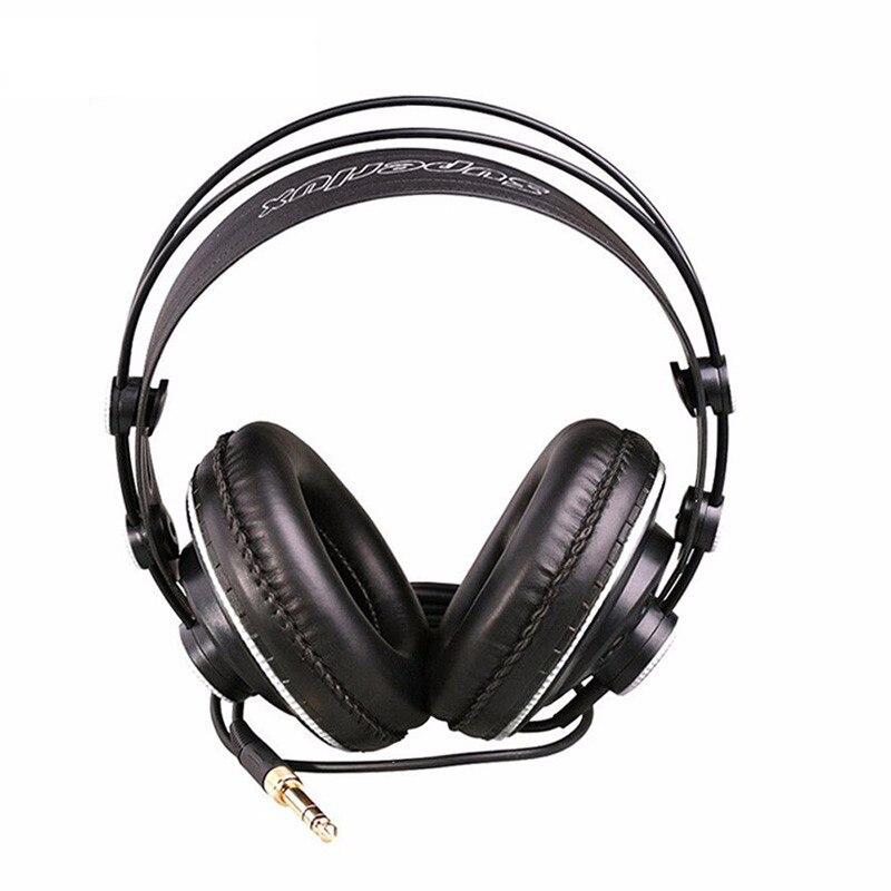 ФОТО Premium Super lux HD681B DJ Headphone Studio Headset Semi-open Dynamic Stereo Professional Monitoring Headphones fone de ouvido