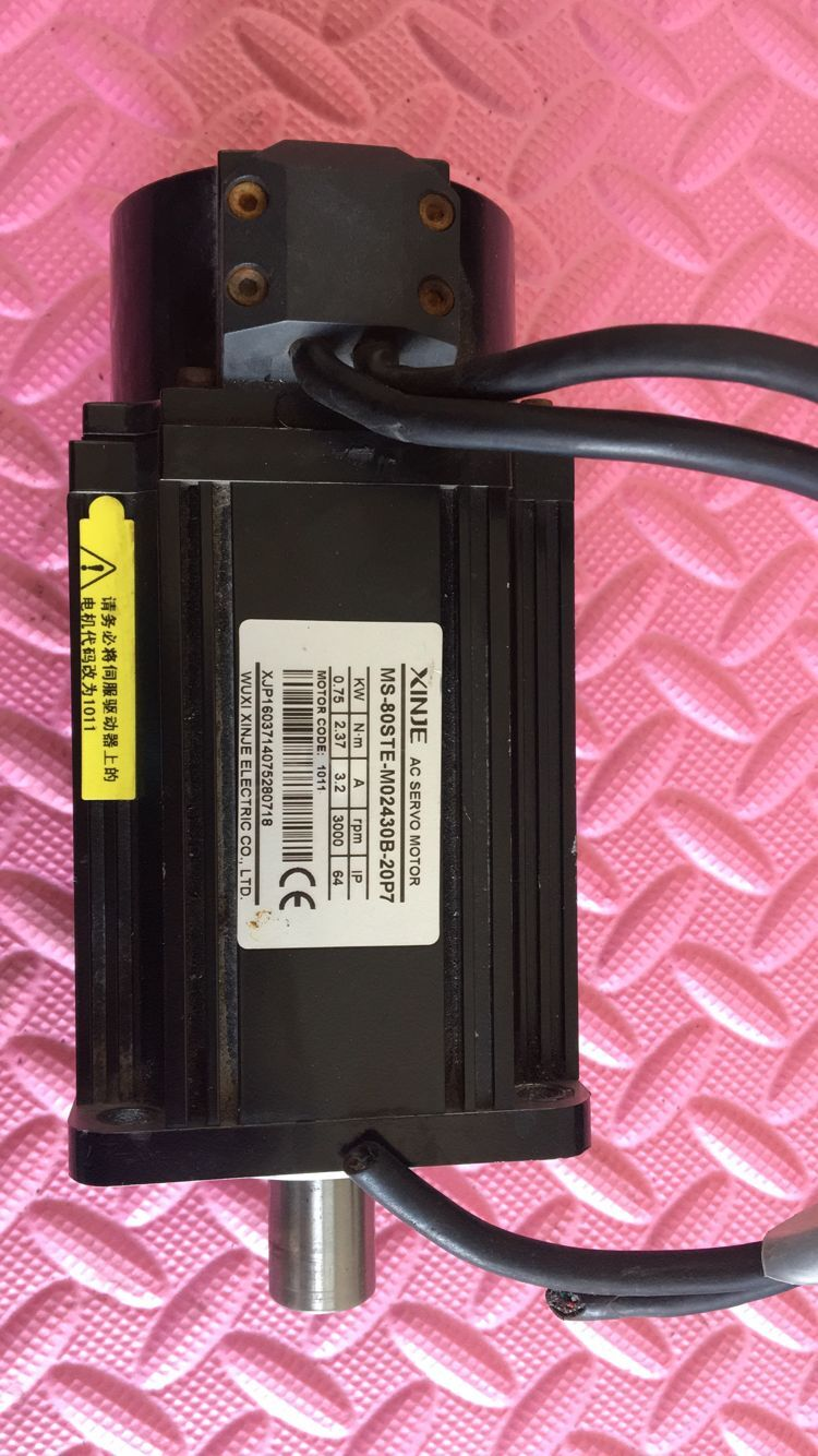 Motor MS-80STE-M0243BZ-20P7  , Used  one , 90% appearance new , 3 months warranty , fastly shipping Motor MS-80STE-M0243BZ-20P7  , Used  one , 90% appearance new , 3 months warranty , fastly shipping