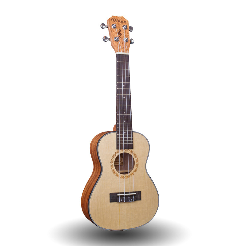 Top Solid Concert Ukulele 23 Inch Mini Guitar 4 Strings Mahogany Picea Asperata Ukelele Guitarra Handcraft Uke High Quality soprano concert tenor ukulele 21 23 26 inch hawaiian mini guitar 4 strings ukelele guitarra handcraft wood mahogany musical uke