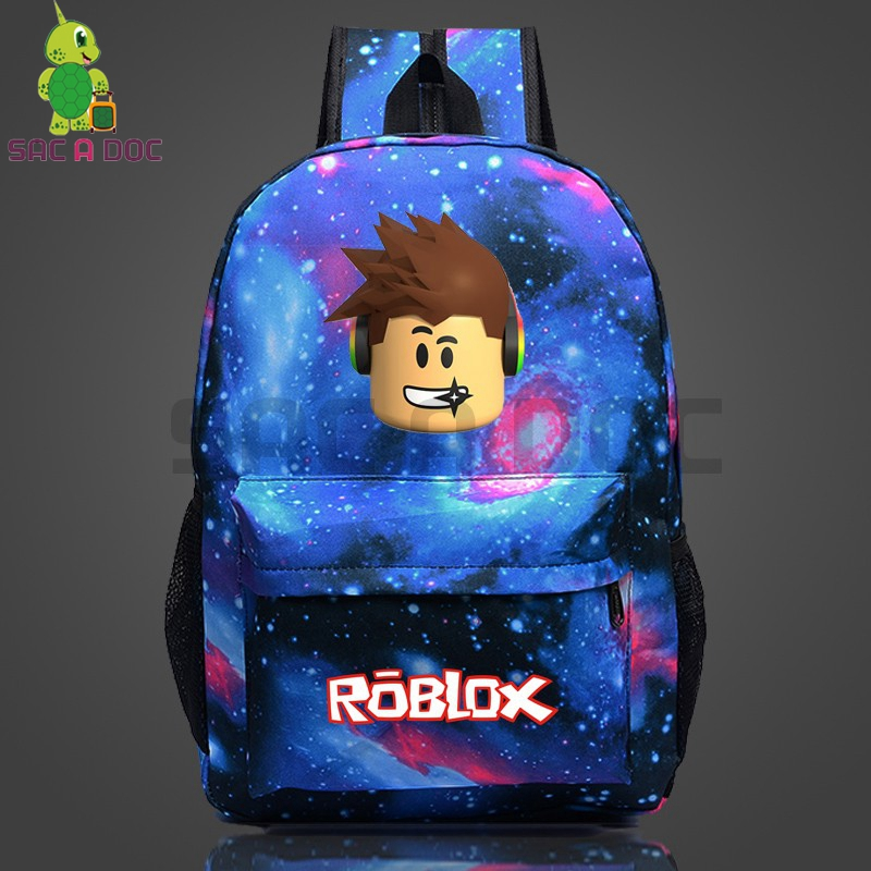 Roblox Galaxy Space Backpack School Bags For Teenage Girls Boys Daily Backpack Laptop Backpack Women Men Casual Travel Bags