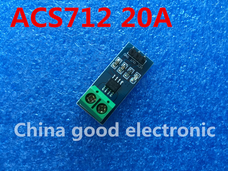 NEW ACS712 20A Hall Current Sensor Module ACS712 model 20A In stock high quality A07