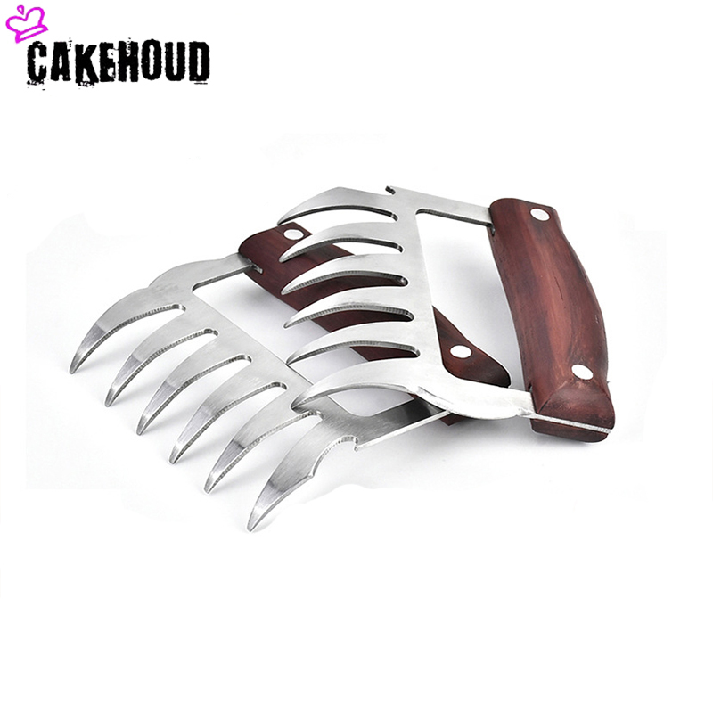 CAKEHOUD Multi function Bear Claws for Decomposition of Meat Useful for Transporting and Fixing Meat Made of Steel 5