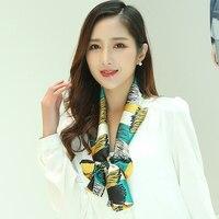 Галстук универсальные шелковый шарф качество шелка и атласа галстук magicaf небольшой Шелковый шарф Одежда украшения
