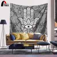 Textil para el hogar, imagen de Palma, tapiz de impresión Digital, Manta colgante para la pared, Manta de Playa de Verano 2017, toalla de Playa, decoración marroquí Mre