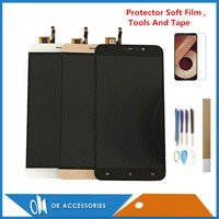 5.5 Gold Black White Rose Gold Color For Cubot Note S LCD Display+Touch Screen Digitizer Assembly Replacement Part With Kits