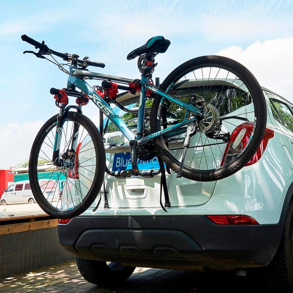 3-supports de montage de coffre de vélo support de vélo Installation rapide support de stockage supports de voiture