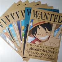 9*(42x29 см) Новые постеры в стиле аниме, постеры, настенные наклейки, игрушки Санджи и нами Луффи