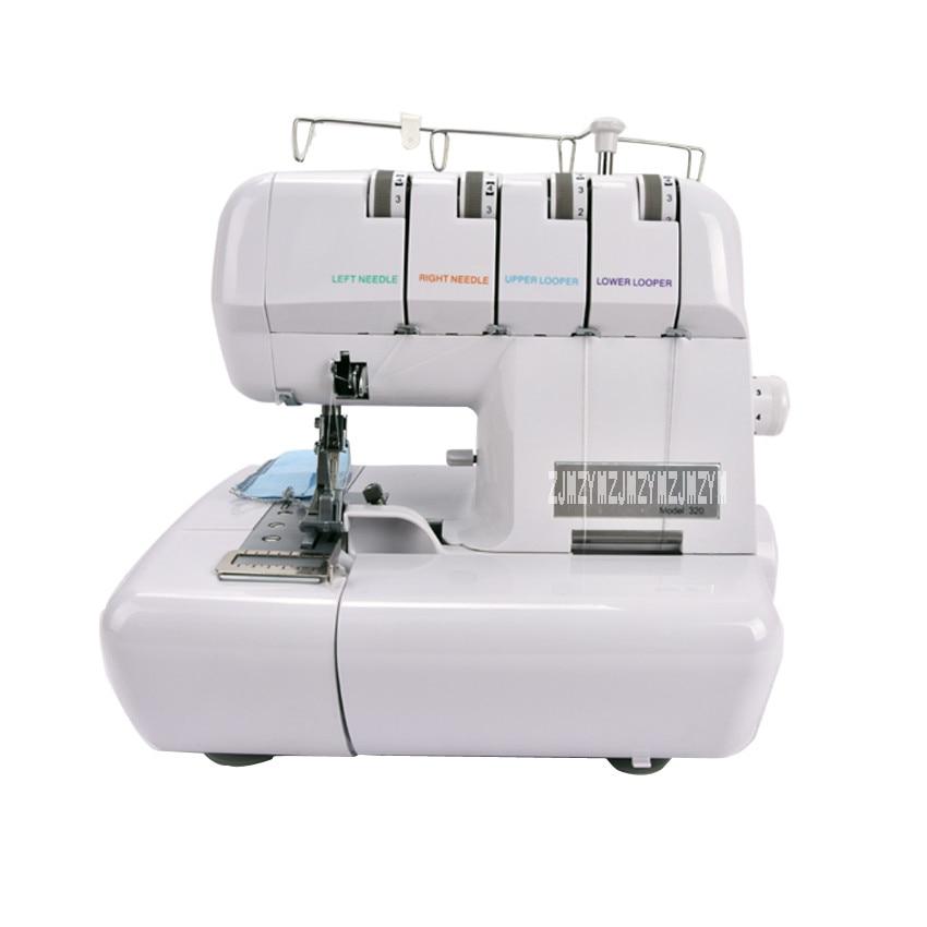 1 шт. 220 В/110 В 320 швейная машина оверлок швейная машина Overedger многофункциональный с Инструкция на английском