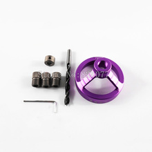2017 New Style Purple Color Woodworking Tools Drill Guide for Drills with Shaft size of 6,8,10mm Bushing JF1110