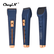 Professional Electric Hair Clipper Rechargeable Haircut Beard Waterproof Hair Trimmer with Charging Base Cutting Machine 42