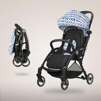 Bolsa carrinho de criança é ultra leve  pode sentar-se e deitar em um guarda-chuva portátil  carrinho de criança dobrável  carrinho de criança