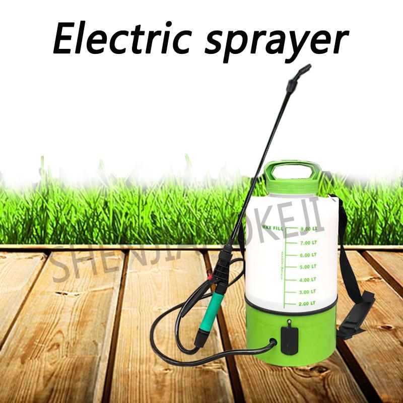1PC Smart charging backpack electric sprayer 5L 8L Multifunctional gardening sprayer Watering pot farm tools