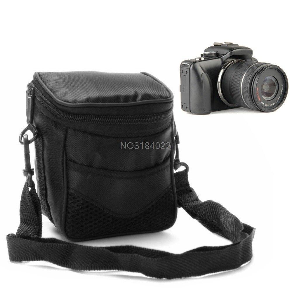 Black Digital Camera Waterproof Case Shoulder Bag For Nikon Canon ILDC Camera #4XFC# Drop Ship