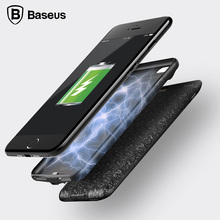 Baseus Battery Charger Case For iPhone 7 2500mAh Slim Battery Power Bank Case Back Cover For iPhone 7 Plus 3650mAh Charger Cases
