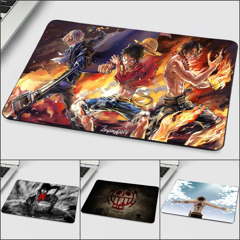 Mairuige So Cool Mini Small Size Mouse Pad Rubber Table Mats One Piece Luffy Ace Sabo Hot Popular Comic Mousepads For Anime Fans