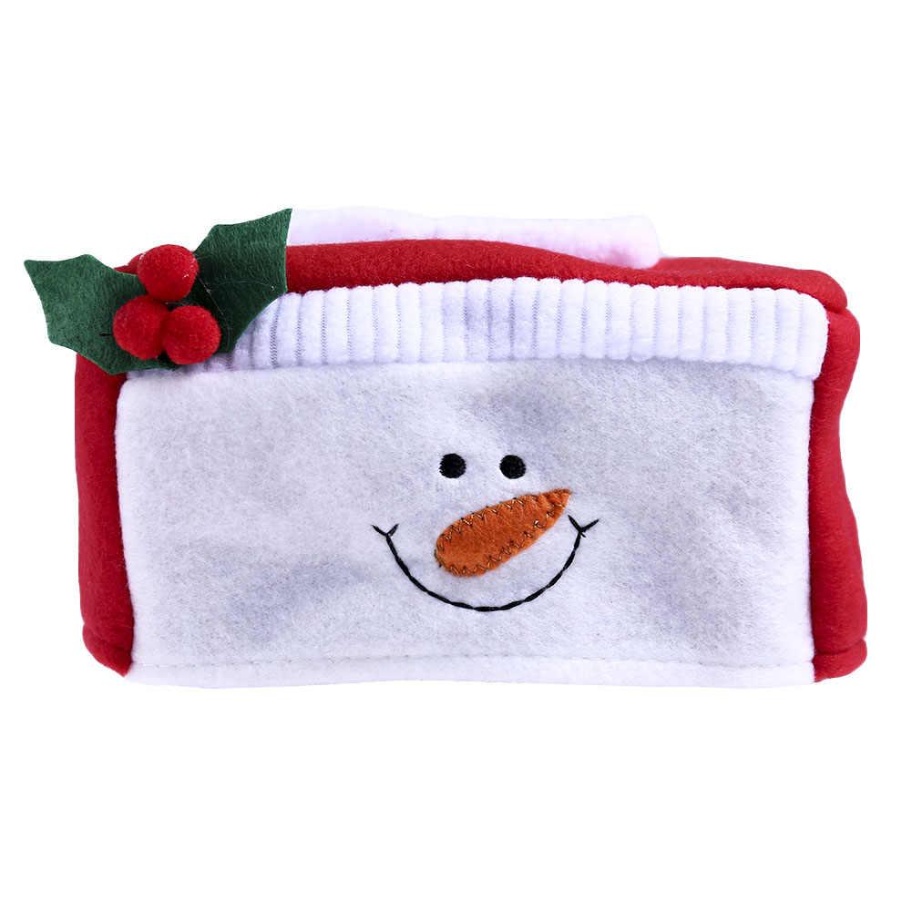 Веселая Рождественская бумага крышка коробки Санта Клаус/Упаковка с украшением