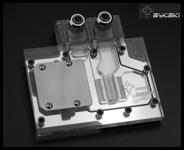 Bykski N-AS97MI-X Full Cover Graphics Card Water Cooling Block 0.5MM micro - channel design for ASUS GTX970MINI GTX960 bykski n ich97b x for inno3d gtx960 gtx970 gtx760 water cooling block